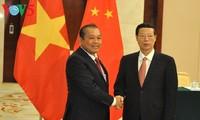 越南加强与中国的友好合作关系