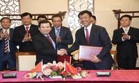 越南最高人民检察院高级代表团访问中国