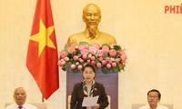 越南14届国会常委会为国会四次会议做准备