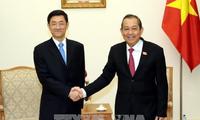 张和平会见中国国家安全部副部长