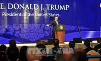 特朗普:要基于公正、平等和互利原则加强贸易关系