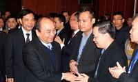 阮春福主持越南有机农业论坛