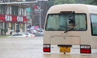 Chine: 9.000 passagers bloqués à l'aéroport à cause des pluies torrentielles
