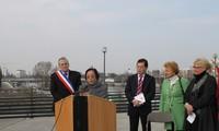 """""""Paris Agreement"""" square inaugurated"""