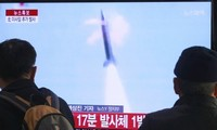 DPRK launches 16 short-range missiles