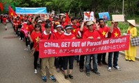 Overseas Vietnamese protest China's violation of Vietnam's sovereignty