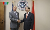 Vietnam, US enhance security, judicial cooperation