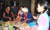 New rice ceremony of the Raglai