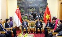 Enhancing Vietnam-Singapore security cooperation