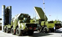 Russian S-300 air defense missile battery deployed in Belarus