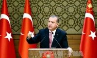 Turkey's government strives to resume stability