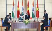 Vietnam, India issue joint statement