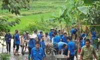 Volunteer activities to serve the nation