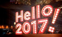 Vietnamese welcome New Year 2017