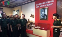 Exhibition features General Van Tien Dung's life and career