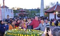 Buddha's birthday, 10th anniversary of Truc Lam Kharkov pagoda commemorated
