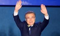 Congratulatory message to South Korean President