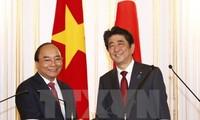 Japan's media highlights Vietnamese, Japanese Prime Ministers' talks