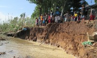 Measures to prevent landslides in the Mekong Delta