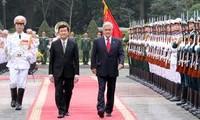 Presiden Cile Sebastian Pinera Echenique mengunjungi kota Ho Chi Minh