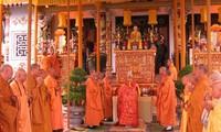 Mega upacara mendoakan negara yang damai dan rakyatnya tenteram