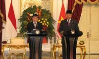 Presiden Vietnam Truong Tan Sang berkunjung di Indonesia