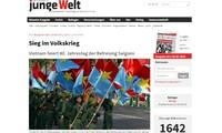 Media komunikasi luar negeri menilai tinggi makna kemenangan 30 April 1975 yang dicapai Vietnam