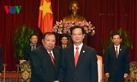PM Nguyen Tan Dung menerima delegasi-delegasi internasional