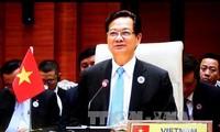 PM Nguyen Tan Dung menghadiri banyak peristiwa investasi Vietnam ke Myanmar