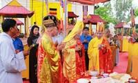 Mega upacara mendoakan arwah para martir dan 504 warga sipil tak berdosa yang dibantai di Son My