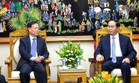 越南公安部部长陈大光会见中国公安部代表团