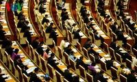 越南国会表决通过关于免去二十名政府成员职务的决议