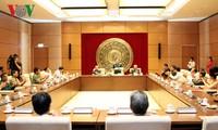 越南国会副主席杜伯巳会见优秀荣军企业家代表团
