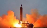 美日韩谴责朝鲜发射弹道导弹