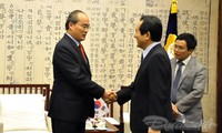 维护和发展越韩战略伙伴关系