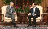 陈大光会见新加坡胜科工业集团和 星桥腾飞集团领导人