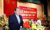 越南政府副总理张和平出席国家行政学院开学典礼