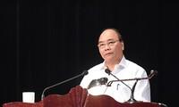 阮春福主持山萝水电站移民再安置项目实施15年总结会议