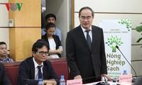 阮善仁:给越南人乃至全世界一个无公害农业
