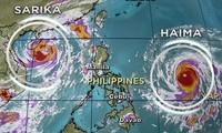 """超强台风""""海马""""动态"""