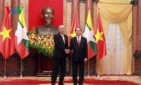 越南与缅甸发表联合声明  承诺深化贸易投资关系