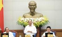 越南政府举行十月份工作例会