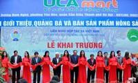 越南安全农产品与食品超市系统开业