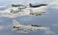 韩美两国举行大规模联合军演