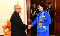 阮氏金银的印度之行有助于深化两国关系