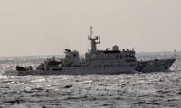中国海警船进入与日本争议海域