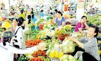 越南市场上一些必需食品价格
