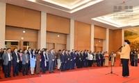 越南国会主席阮氏金银向国会办公厅致以春节祝福