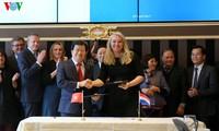 推动越南与荷兰在应对气候变化和水资源管理领域的合作