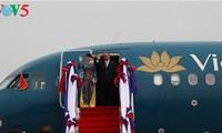 阮春福启程前往菲律宾出席第三十届东盟峰会
